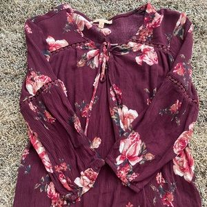 Gibson & latimer floral top